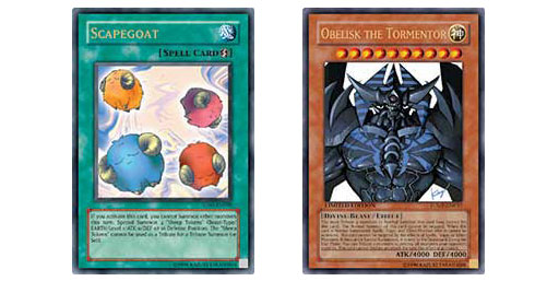 Tribute monsters as weak as a Sheep Token or as strong as Obelisk to clear your opponent's field.