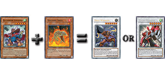 You can even discard Volcanic Shell to Special Summon Quickdraw Synchron.