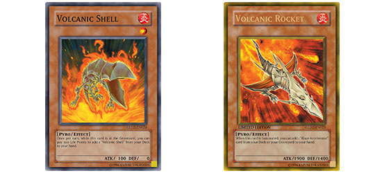The Volcanic cards open up a whole load of possibilities for Quickdraw Duelists.