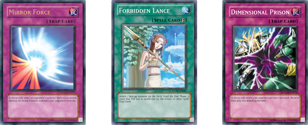 Yugioh Trap And Spell Cards no Spell or Trap Cards