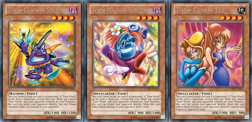 toon yu gi oh cards № 302446
