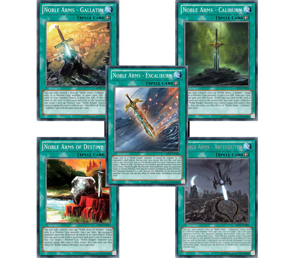 Yu-Gi-Oh! TCG Strategy Articles » Noble Arms – Excaliburn