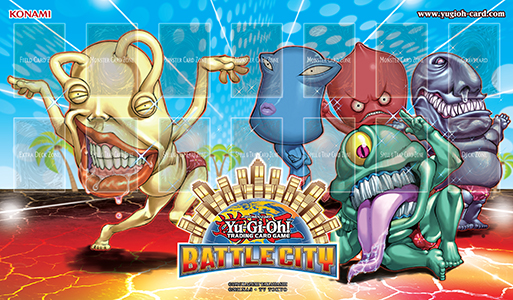 battle city ojama GameMat sm Yu Gi Oh! Battle City Tournament, Saturday April 5th at Blue Bell