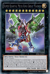 Yu Gi Oh Tcg Strategy Articles Wing Raiders Maximum Power Xyz Monster Super Quantal Mech King Great Magnus Takes Off