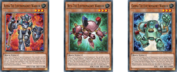 Yu-Gi-Oh! TCG Strategy Articles » Magnet Warriors Pull it