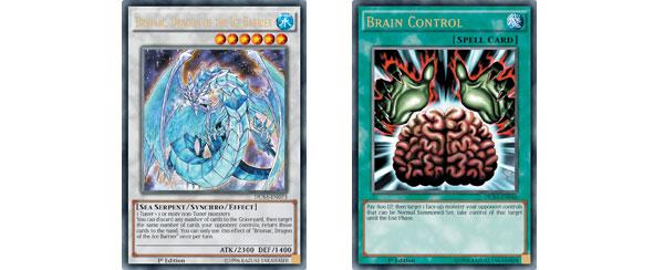 Brionac, o Dragão da Barreira de Gelo e Controle Cerebral