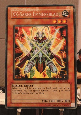 Yu-Gi-Oh! TCG Event Coverage » Absolute Powerforce Preview: XX-Saber Emmersblade