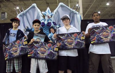 This Weekend's Top 4 Dragon Duelists!