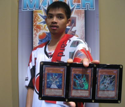 Lazaro takes home an Ultra Rare set of the Darklord Prize Cards in addition to a slew of other cool stuff!