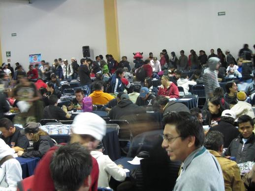 Early in the day, Duelists were pouring into the room to get registered, fill out their decklists, and start the day.