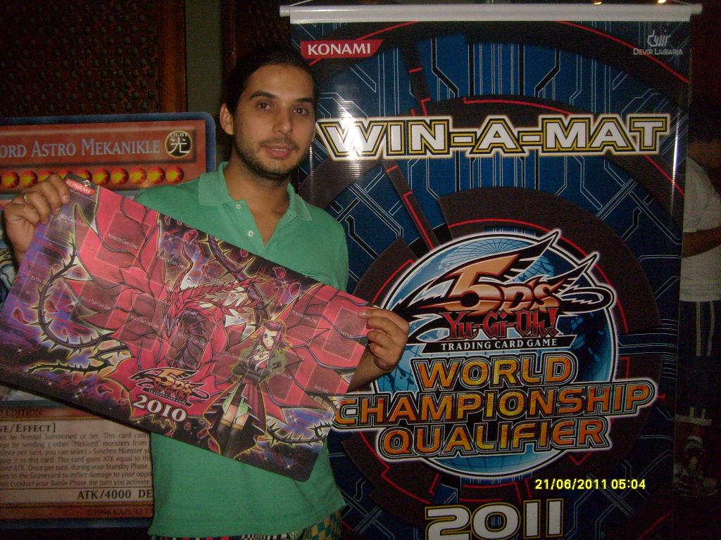 I won an Akiza mat!