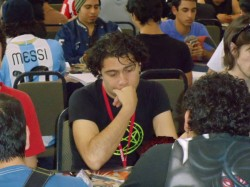 Jose Ubilla from Ecuador and 2011 Yu-Gi-Oh! World Championship Participant