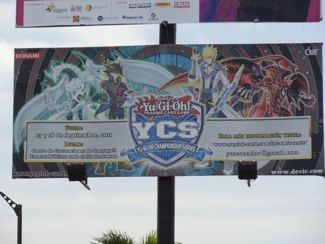 YCS - Ecuador billboard