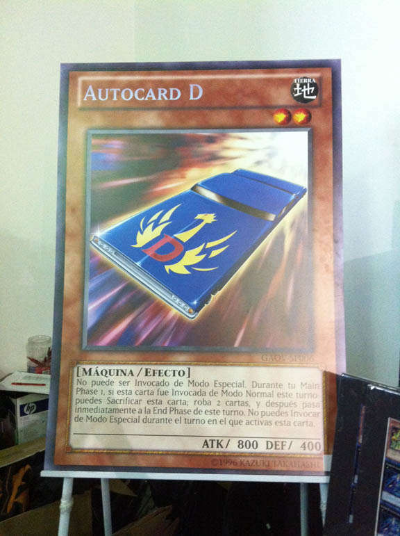 Autocard D