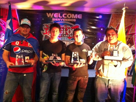 Top 4 from the far left: Carlos, Jhon, Martin and Marco