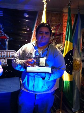 2012 Central American Champion