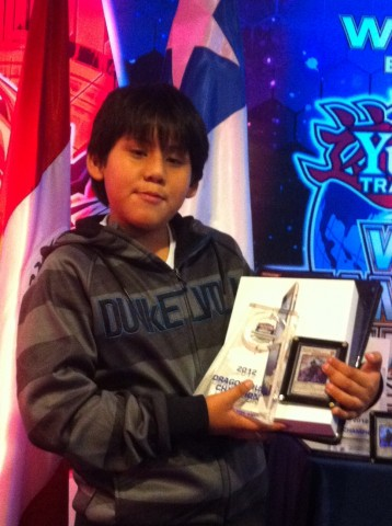 2012 South American Champion, Marco Oviedo from Ecuador