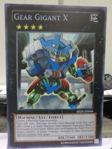 Giant Card Gear Gigant X