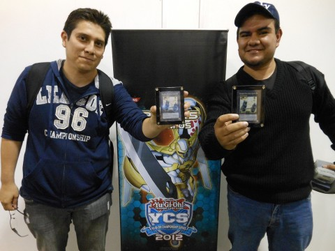 (Left to Right) Carlos Rodas (Random Points - Guatemala - Wind-Ups), Erick Rodriguez (Total Points - Mexico - Wind-Ups)