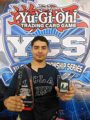 Angel Flores (Mexico) is now a three-time YCS Champion!