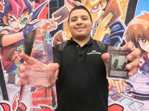 Oscar Zelaya Trophy Shot