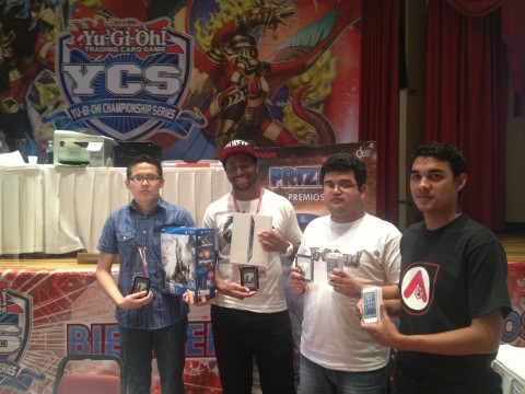 From left: Campos Valverde (Champion), Cooper (Finalist), Herrera Melara (3rd), Morales Cerdaa (4th)