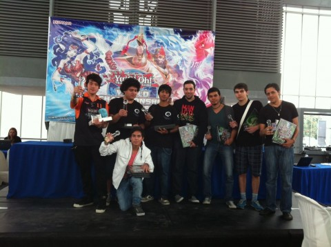 Top 8 Duelists from South America 2013