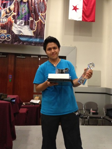 Alejandro Vivaldo Reyes Suarez - New Central American Champion