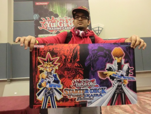 Shawn Rai wins with Starter Deck Kaiba Reloaded
