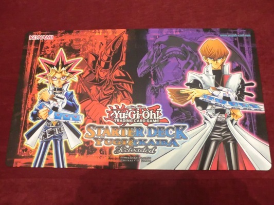 Yugi and Kaiba Game Mat