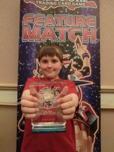 Jackson Sayre is this weekend's Dragon Duel champion!