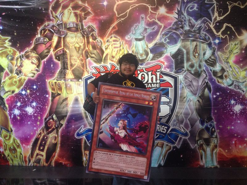 Julios Salinas - ATTACK OF THE GIANT CARD!! winner