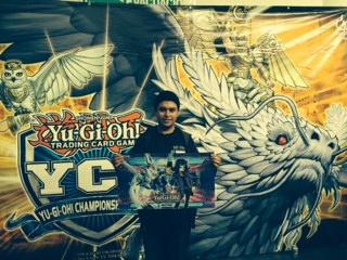 Win-A-Mat winner Victor Gonzalez