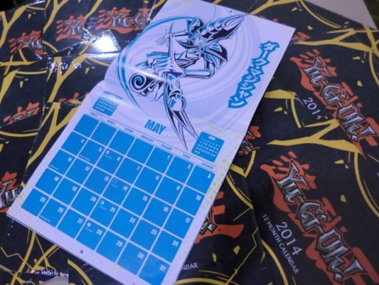 Yu-Gi-Oh! Calendar