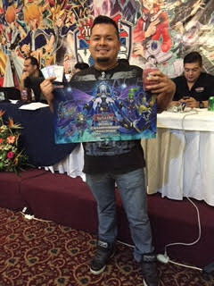 David Gonzalez Vasquez with his 'Tellarknight Deck