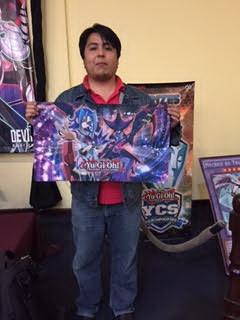 Win-A-Mat winner, Jose Manuel Velasquez, 'Tellarknights