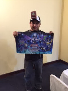 Luis Eduardo Yaguas with his Yosenju Deck