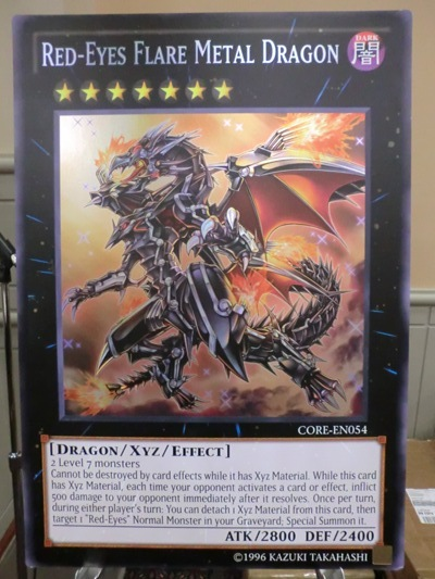 Giant Red-Eyes Flare Metal Dragon