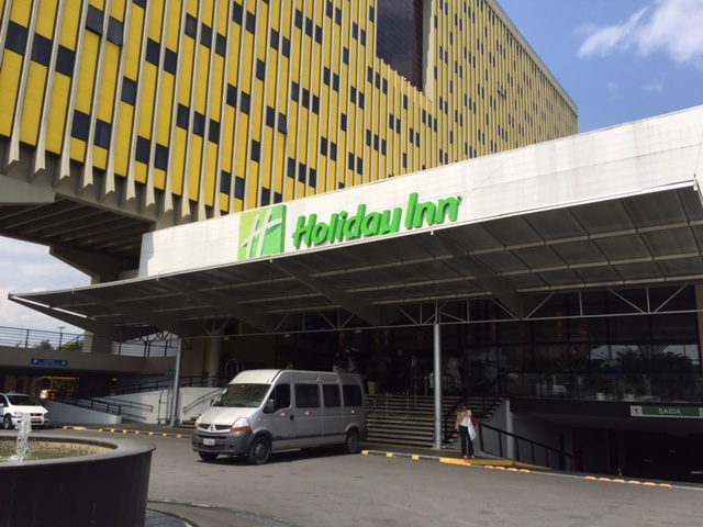 Holiday Inn entrance