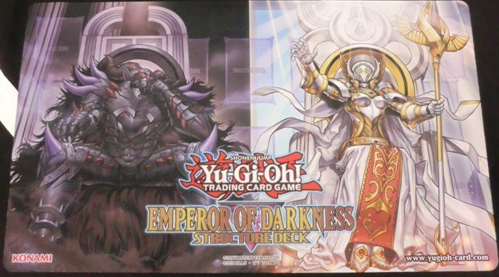 Emperor of Darkness Structure Deck Mat-