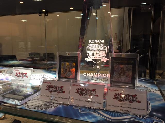 YCS Trophy + Minerva