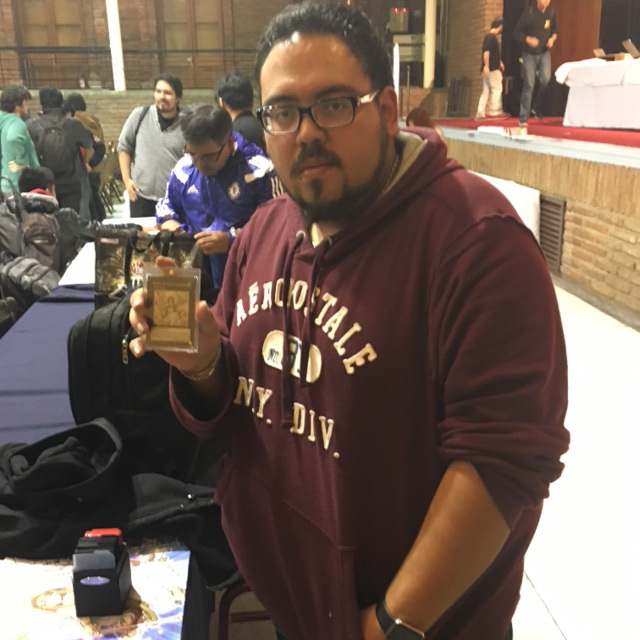 Alejandro Garcia Moreno from Mexico, also with his Monarch Deck