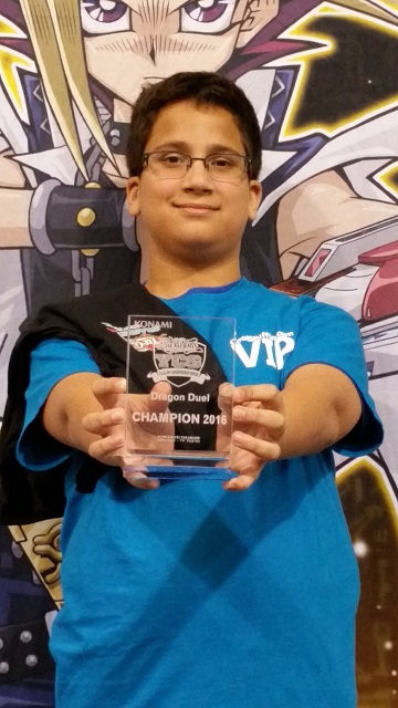 YCS Anaheim Dragon Duel Champion Rohan Motie