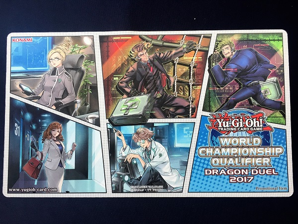 Dragon Duel Participation Game Mat