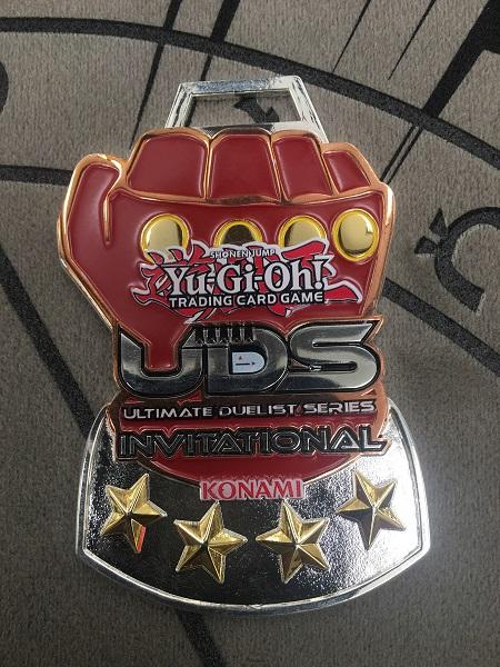 Yugioh Uds top 8 pin Seal Of Orichalcos